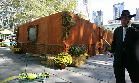 Keeping Kosher Is A Challenge Observant Jews Already Face But Finding Sukkah To Have Your Meal Or Restaurant That Has Can