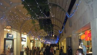 Mamilla Mall at Night 2011