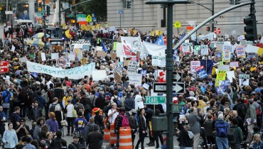 Occupy-Wall-Street-March