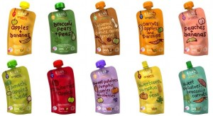 squeezable baby pouches