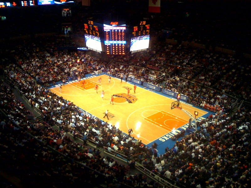 Msg Thrills Knicks Fans With Floor Ion Extravaganza