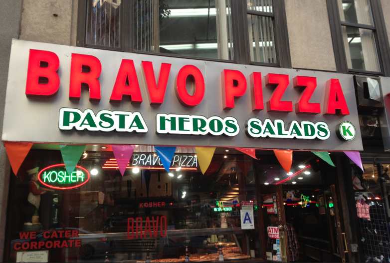 """""""Bravo Pizza"""" Taking Over """"Cravings"""" in Downtown Manhattan"""