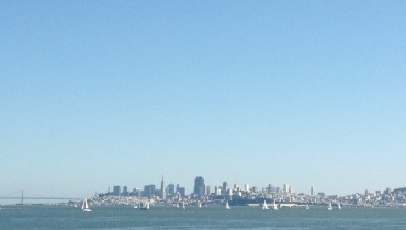 View of San Francisco from Sausilito, CA