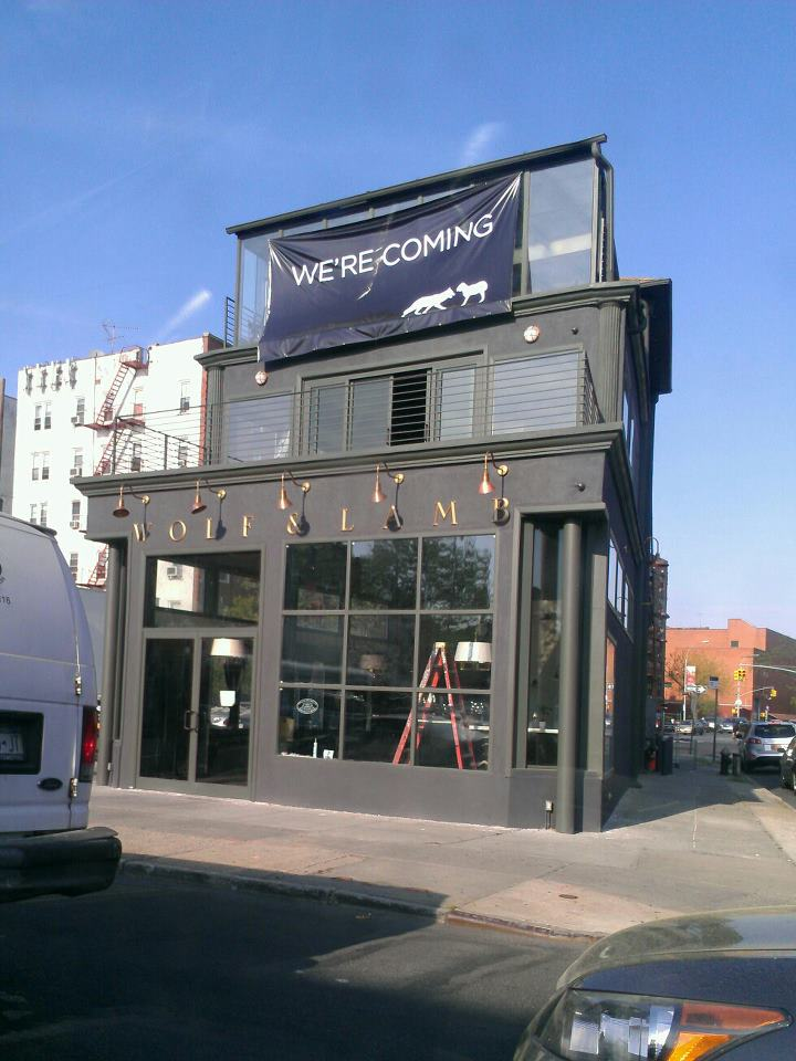 Wolf & Lamb's Brooklyn opening back in 2012