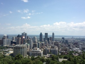 Montreal-skyline-view-from-mont-royal-mount-royal-MTL-Quebec-Canada