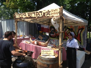 Hakadosh BBQ competing at the LI Kosher BBQ Championship on June 9th