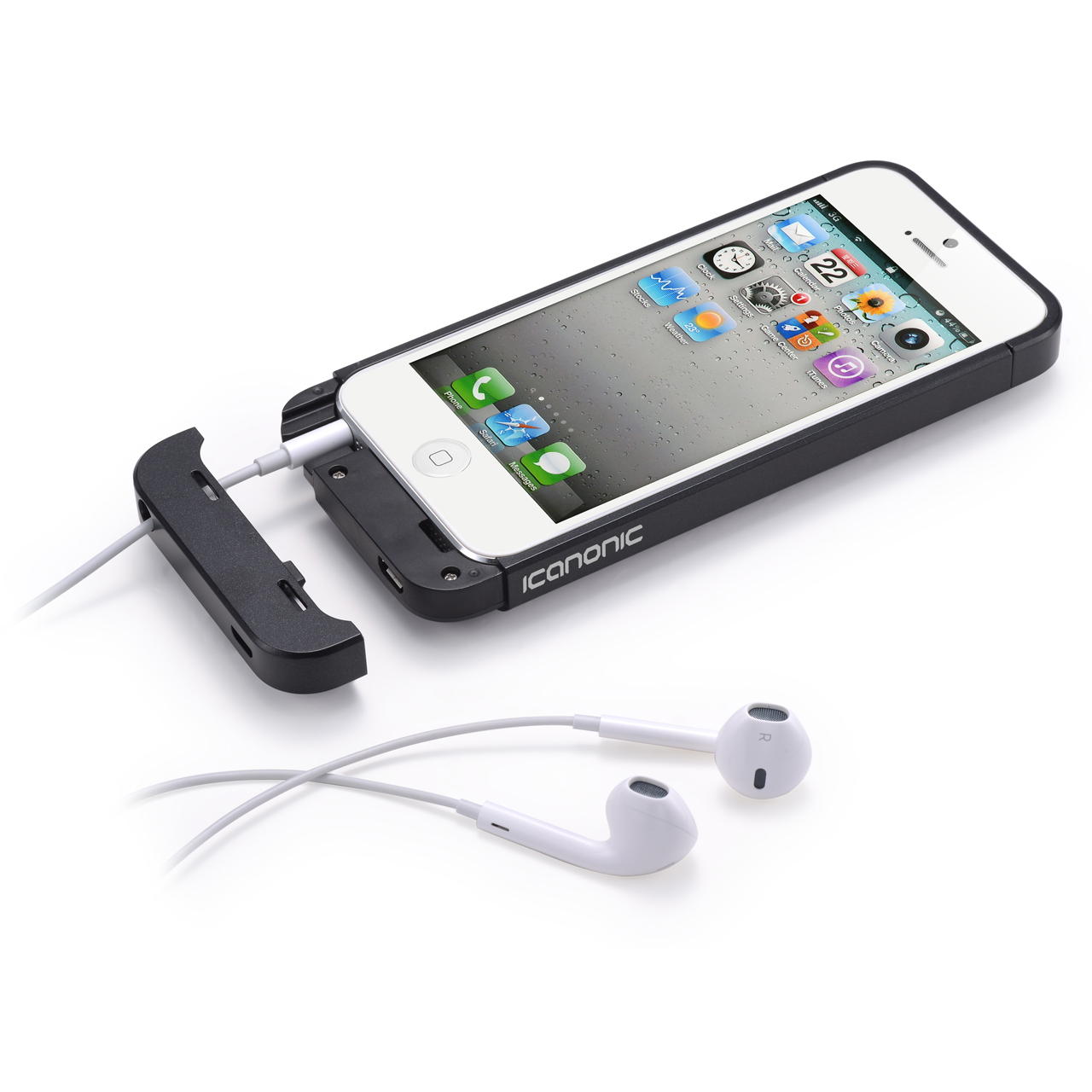 Iphone 5 Solar Charger Case Icanonic iphone 5 charger case