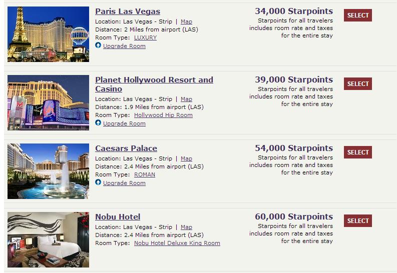 Las Vegas Hotel Prices Per Night