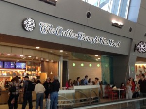 Coffee Bean & Tea Leaf @ Las Vegas Airport: Terminal C