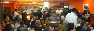 Inside Amba Restaurant