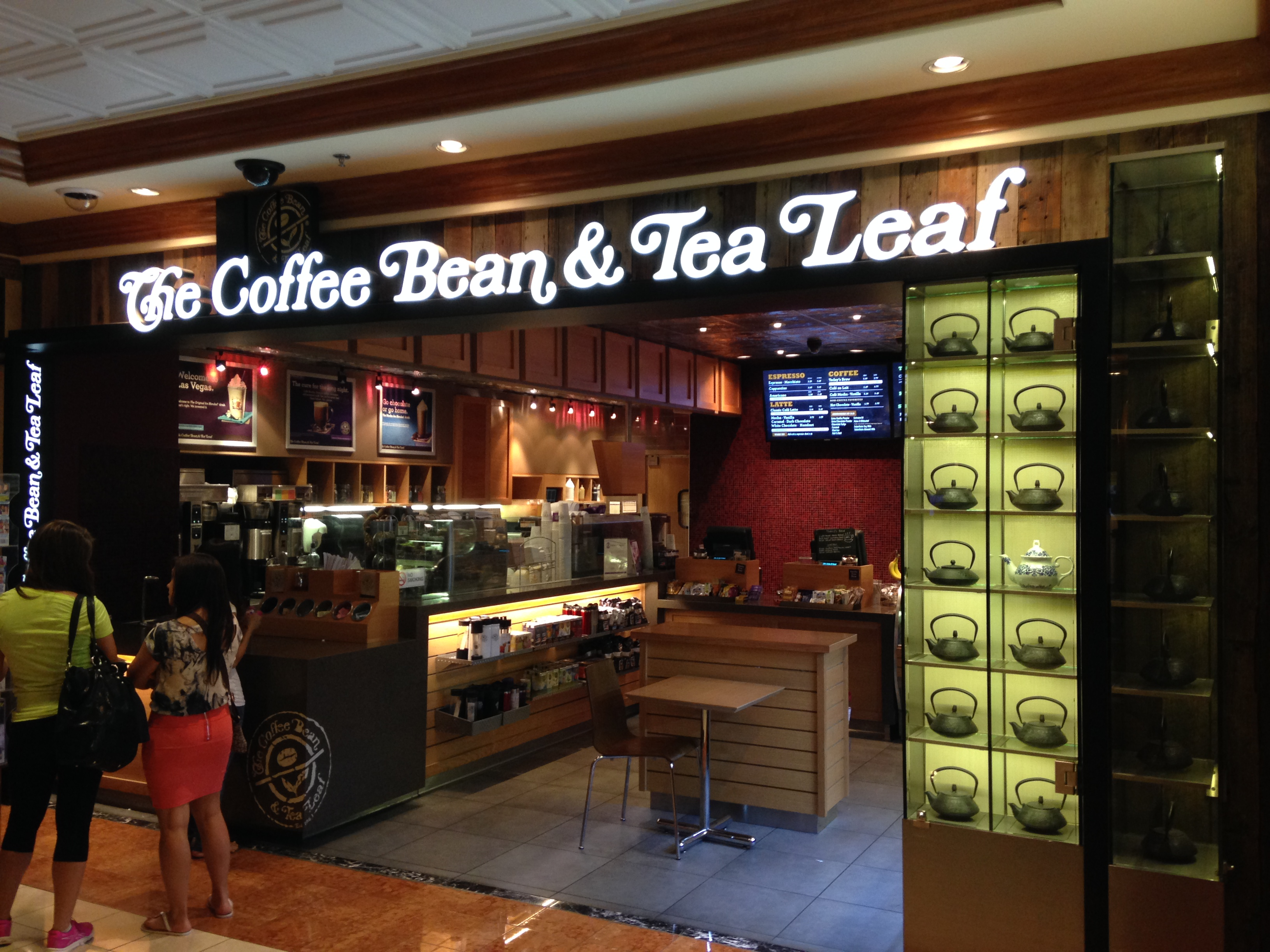 4 Kosher Coffee Bean Tea Leaf Locations On Near The Las Vegas Strip Yeahthatskosher