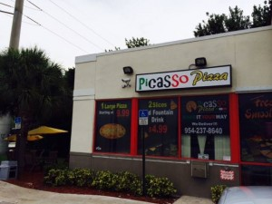 picasso pizza storefront