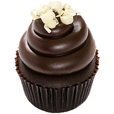 Chocolate brownie cheesecake cupcake from House of Cupcakes