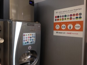 Coke Freestyle Machine w/100+ flavors