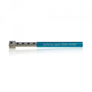 Silver-turquoise-travel-size-hanukkah-meorah