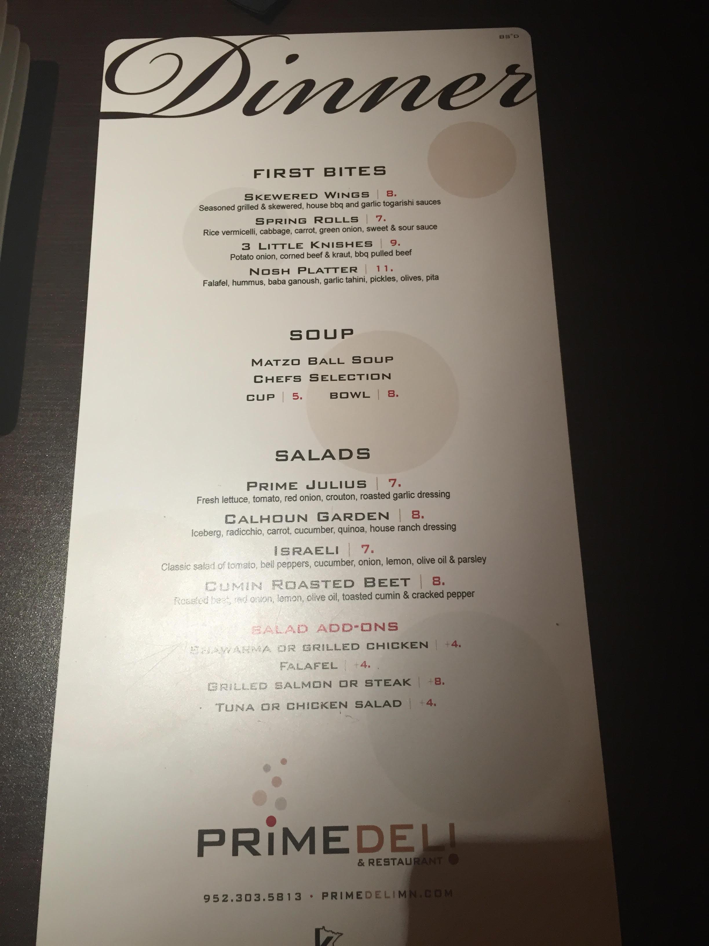 Restaurant booths - Review Of Prime Deli Minneapolis Mn Yeahthatskosher