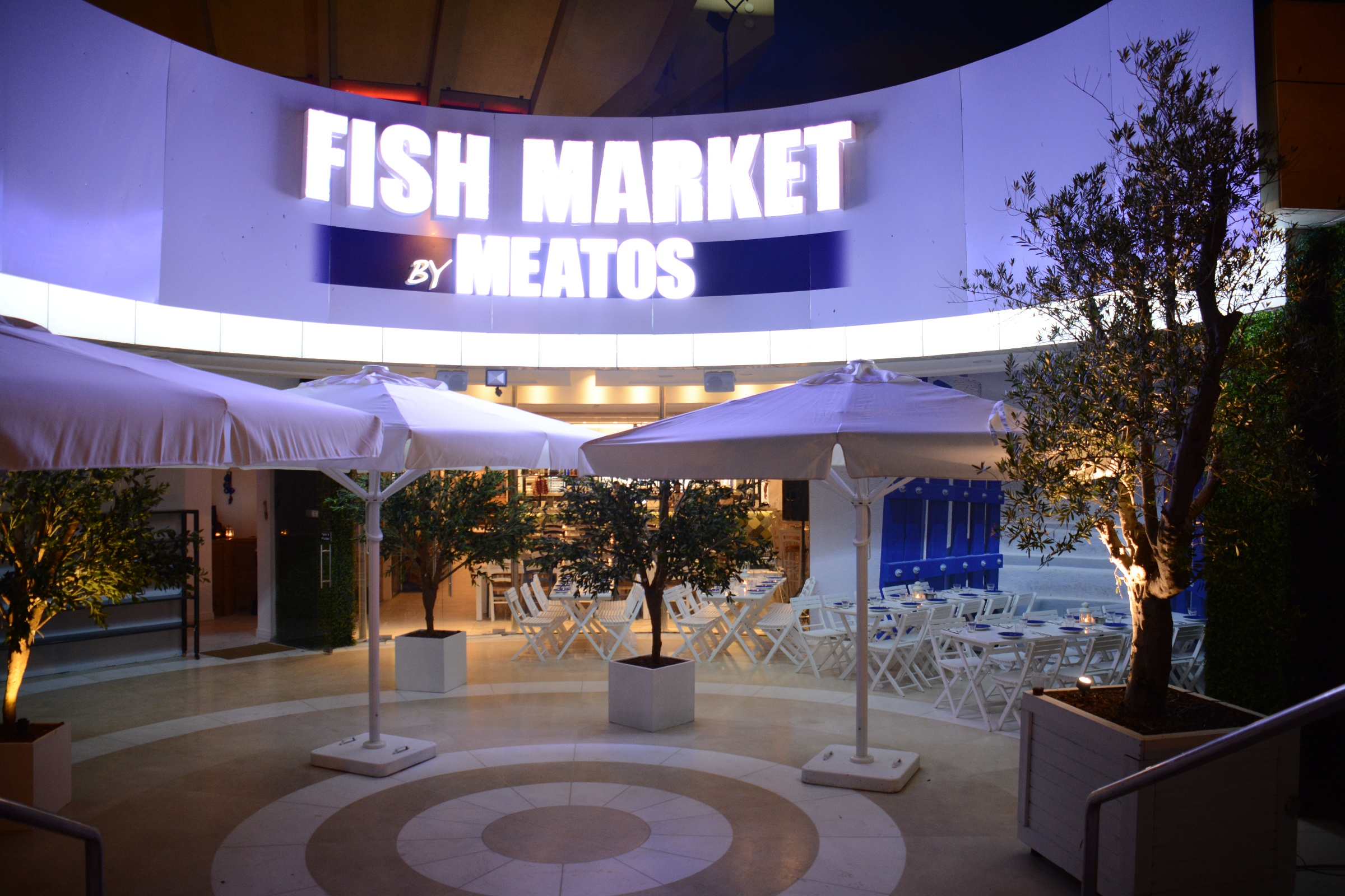Fish market by meatos launches in tel aviv for Fish market restaurant nyc