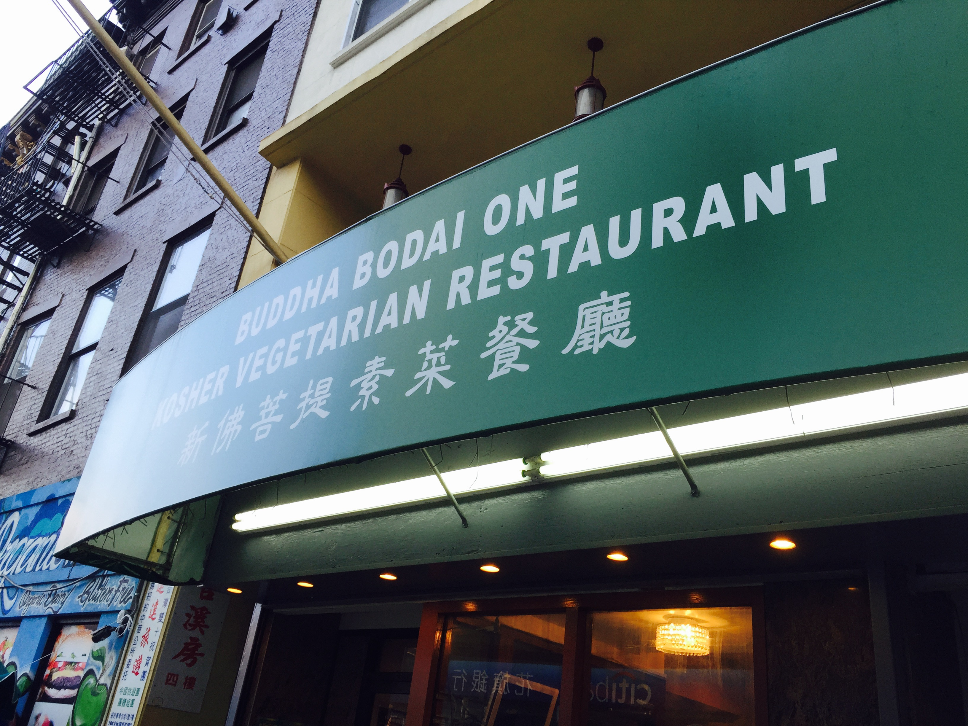 Original Buddha Bodai One Kosher Vegetarian Restaurant Chinatown