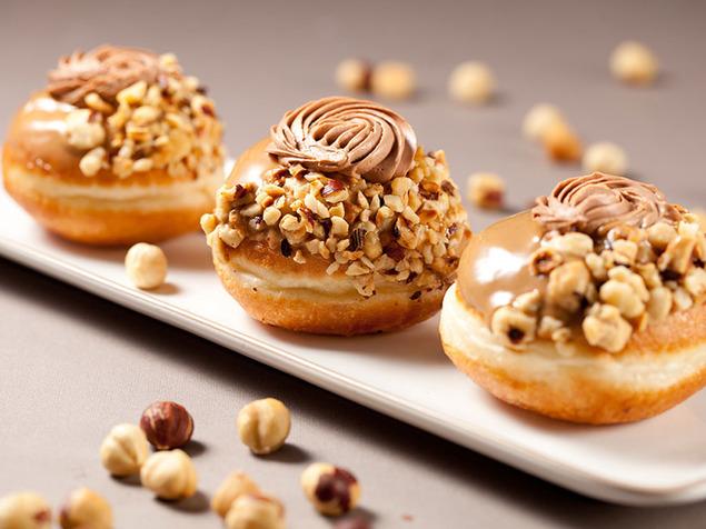 Sufganiyot from Biscotti Bakery