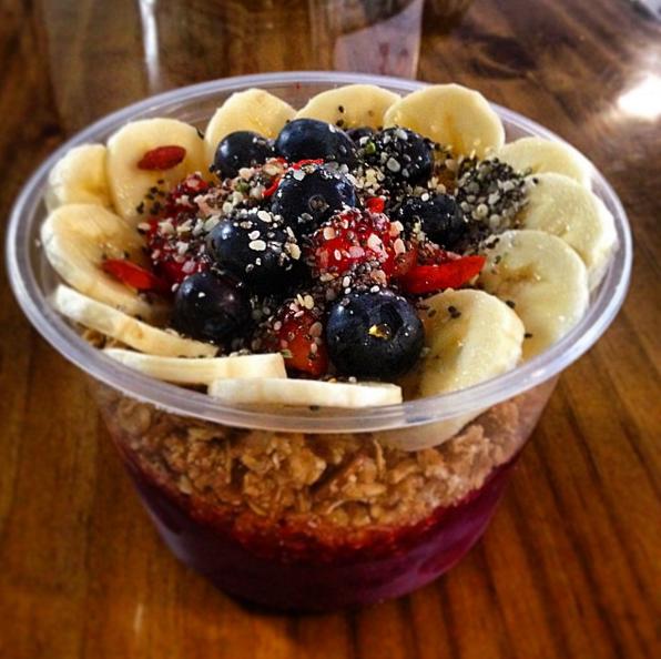 Acai Breakfast Bowl.