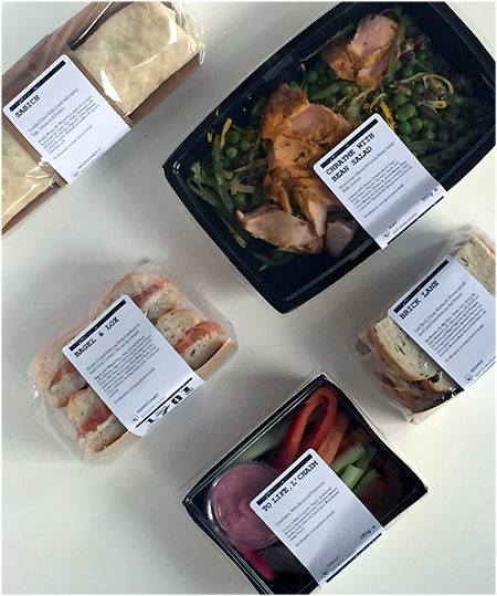 1701 Kitchen's to-go meals at Selfridges