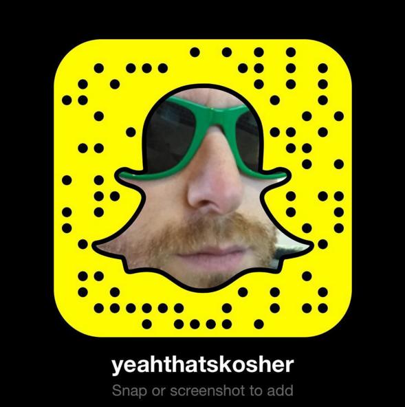 Snapchat-YeahThatsKosher