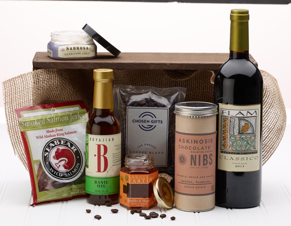 The Ultimate Foodie Kosher Gift Basket