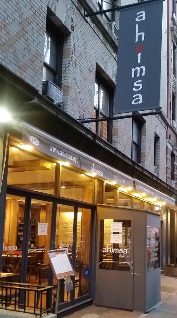 New Kosher Indian Restaurant In Nyc S West Village Ahimsa