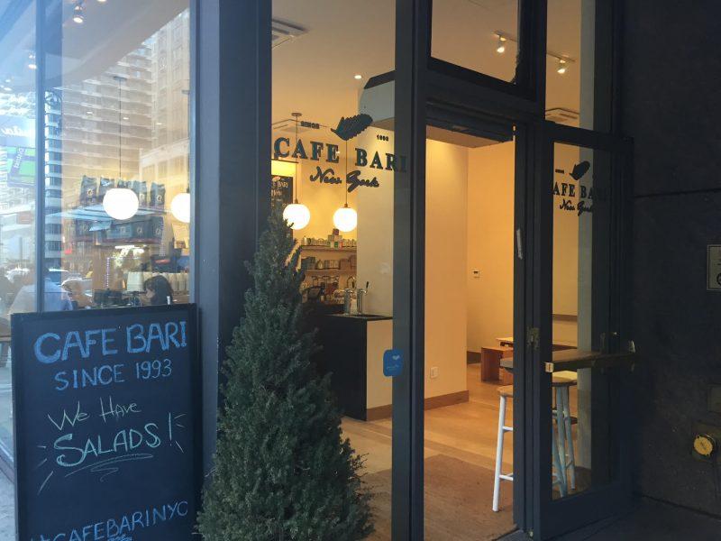 Cafe Bari Midtown Nyc