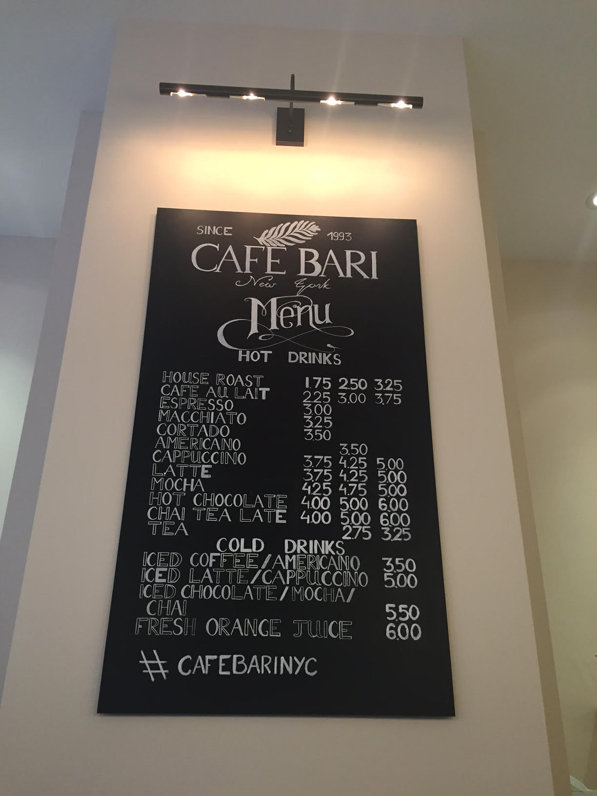 cafe-bari-kosher-midtown-nyc-menu