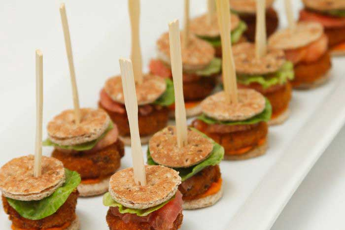 A Kosher Touch sliders