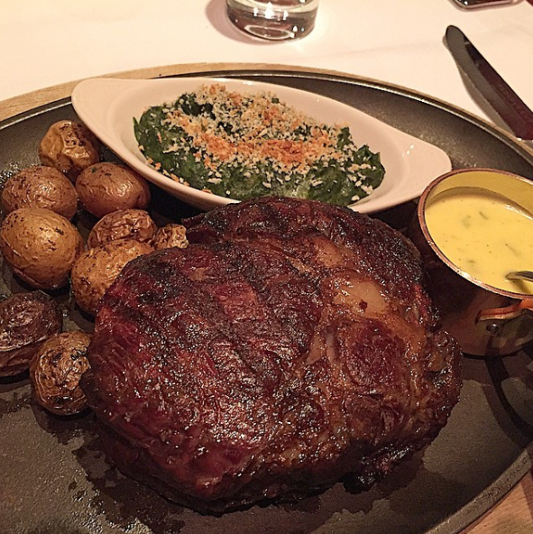 Reserve Cut Steak Sides Kosher Downtown Nyc