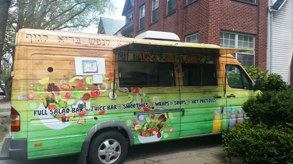 The Toss It 26 Food Truck Is A New Kosher Traveling Through Manhattan And Downtown Brooklyn On Different Days Of Week