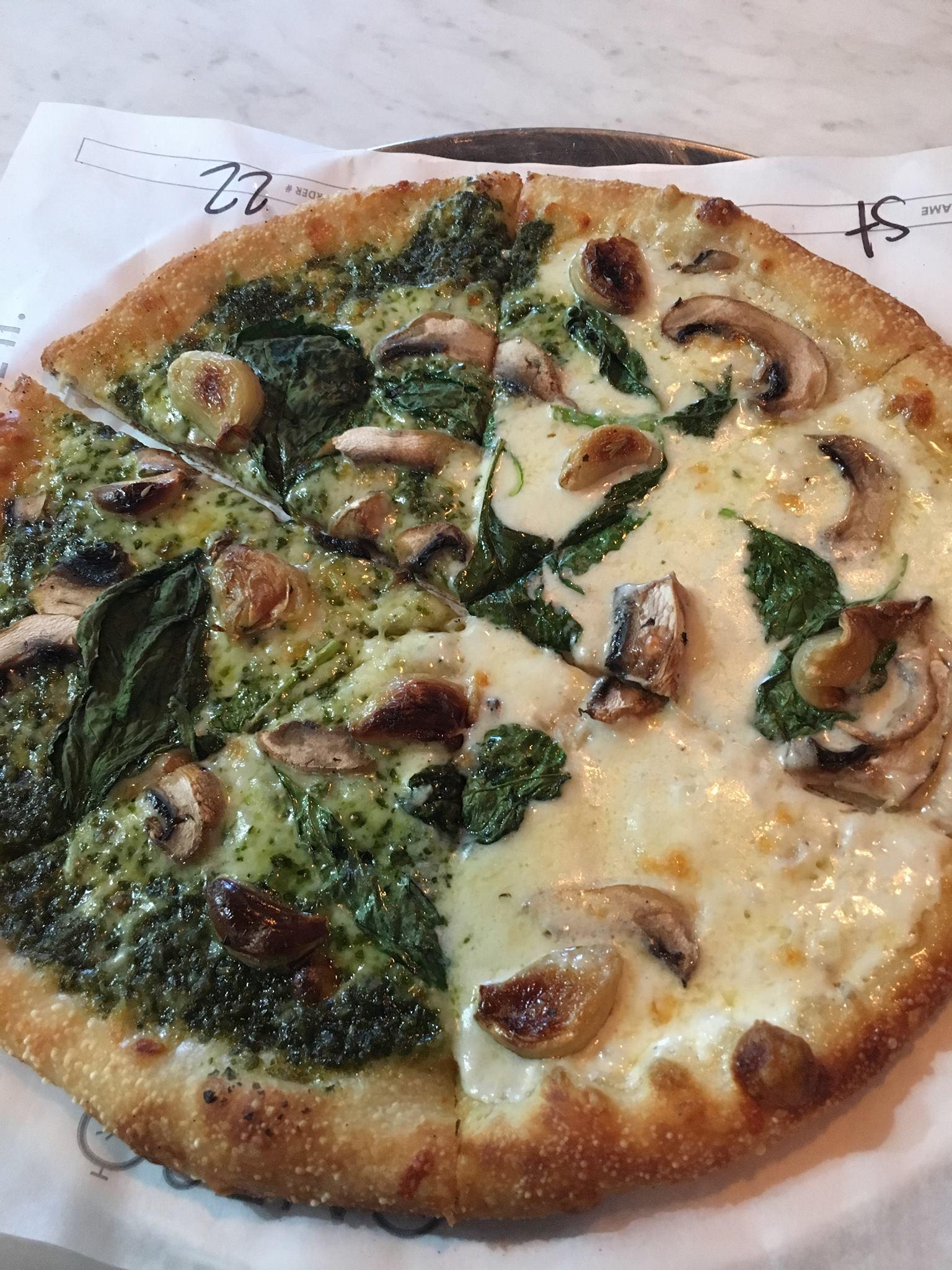 Brand New Build Your Own Kosher Pizza Now Open In La One80 Pizzeria Yeahthatskosher Restaurants Travel