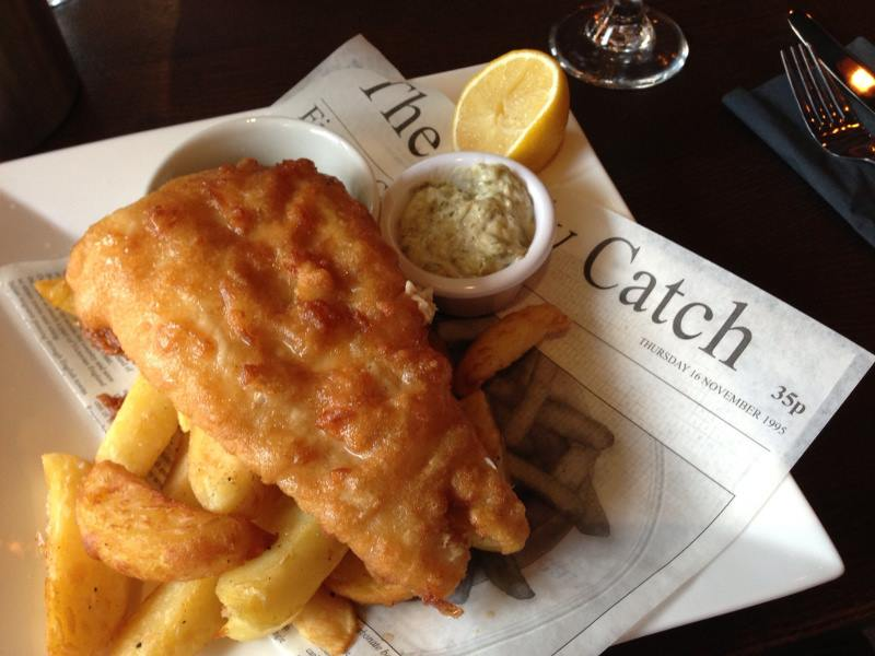 Fish & Chips from Kosher Catch