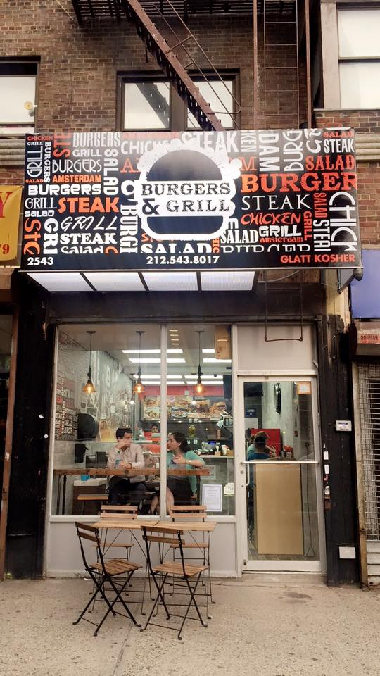 Burgers N Grill Opens On Yu Side Of Washington Heights