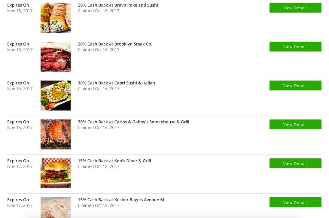 Deals Up To 30 Off Cash Back At Kosher Restaurants On