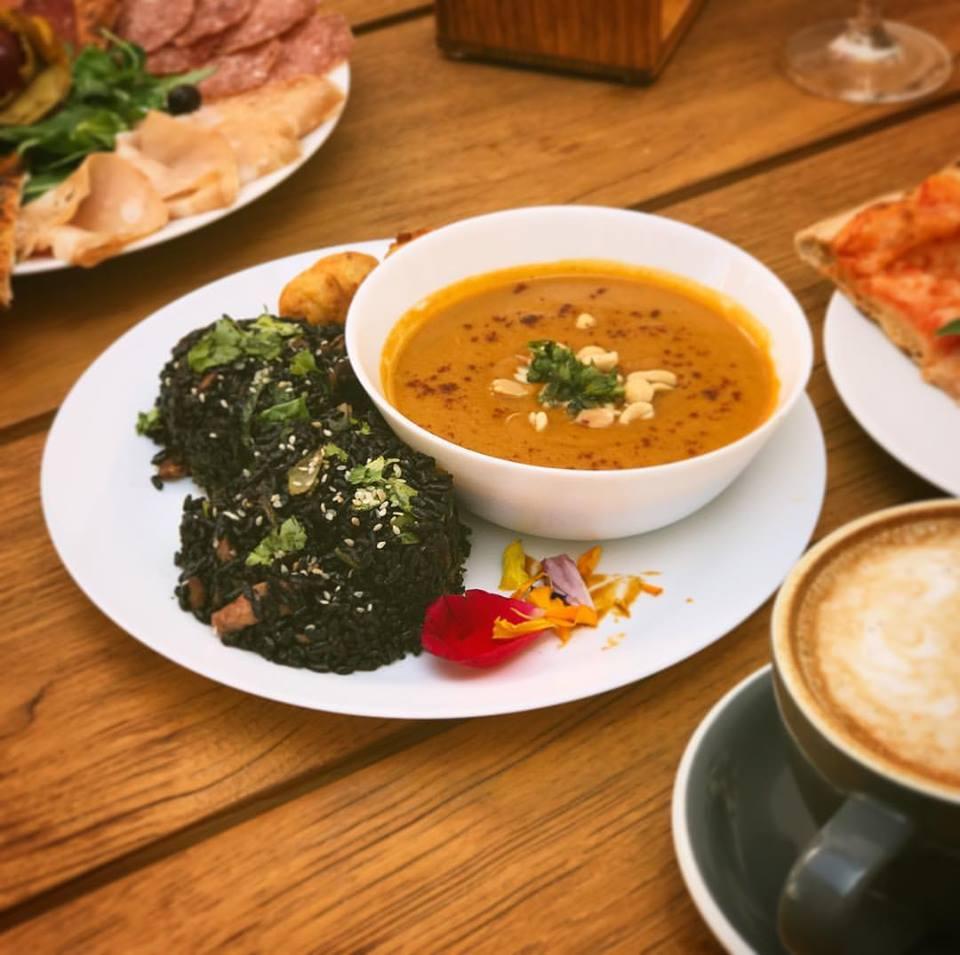 African vegan restaurant is now kosher in santa cruz ca for Abbott california cuisine