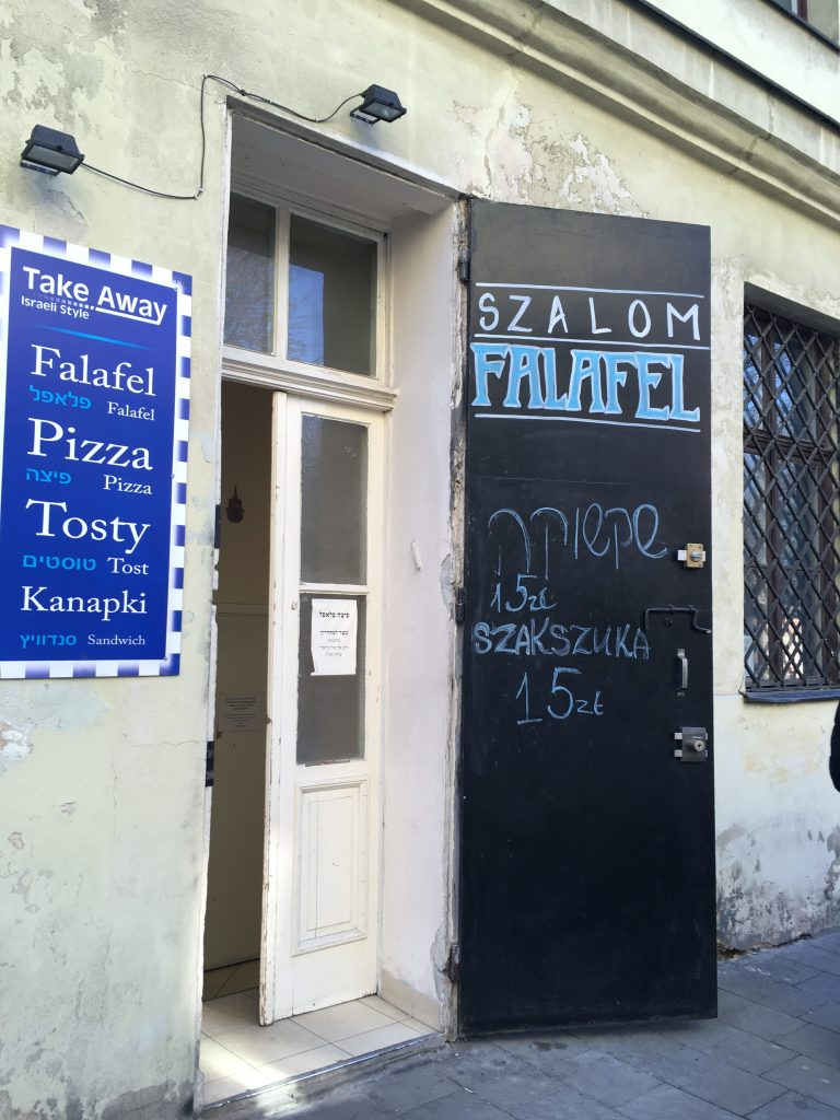 Jewish kosher travel guide for krakow poland yeahthatskosher szalom falafel is the only walk in kosher eatery in krakow located in the back of the isaac synagogue at 21 jakuba st it is very small with limited buycottarizona Images