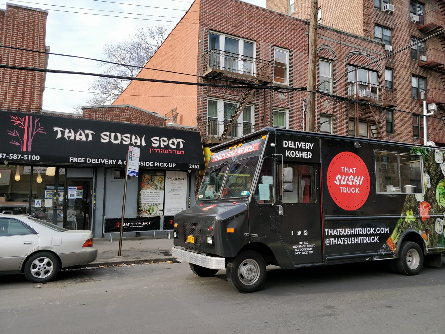 Kosher Sushi Food Truck Hits The Streets Of Nyc That Sushi Truck
