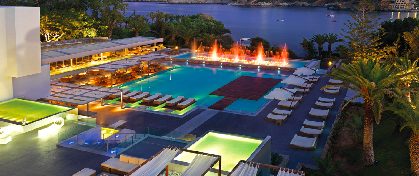 Kosher Restaurant Opening at Resort on Crete, Greece