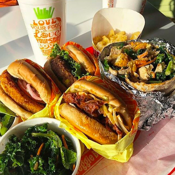Kosher Veggie Fast Food Stand Now Open At The Mall Of
