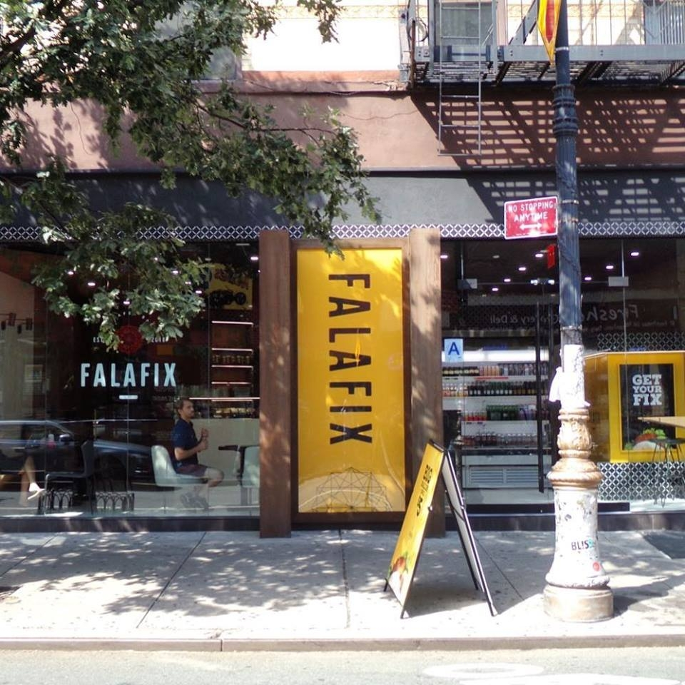 Earlier This Summer A Brand New Falafel Restaurant Opened On The Lower East Side And It Recently Became Kosher
