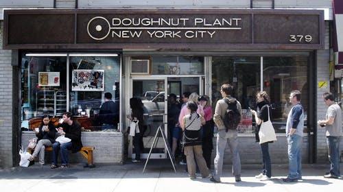 The Original Doughnut Plant Location On Lower East Side