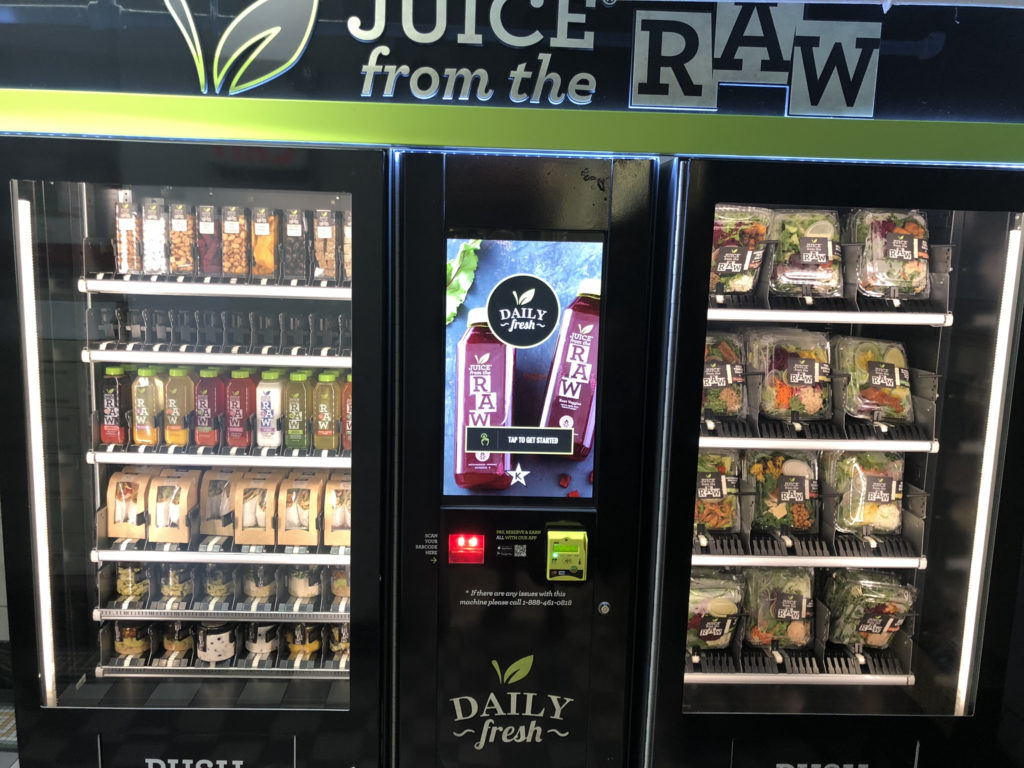 New Fresh Kosher Vending Machine In Midtown Manhattan
