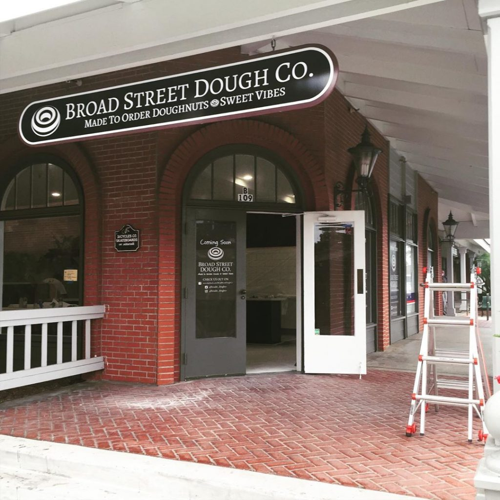 The storefront of Broad Street Dough Co
