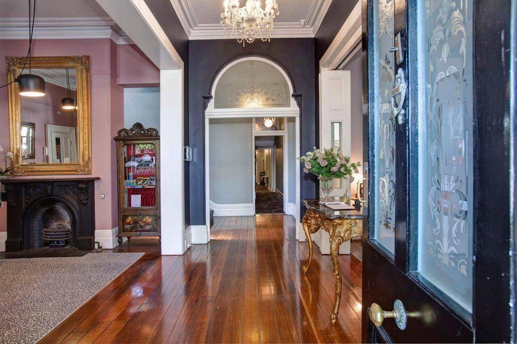a charming entryway