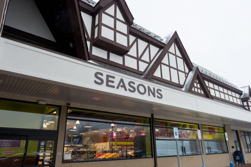 Seasons Grocery store storefront