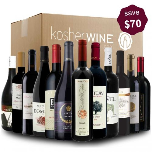 premium red case of wines